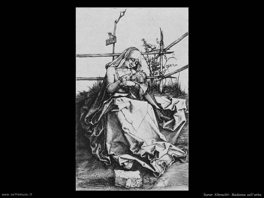 Madonna sull'erba