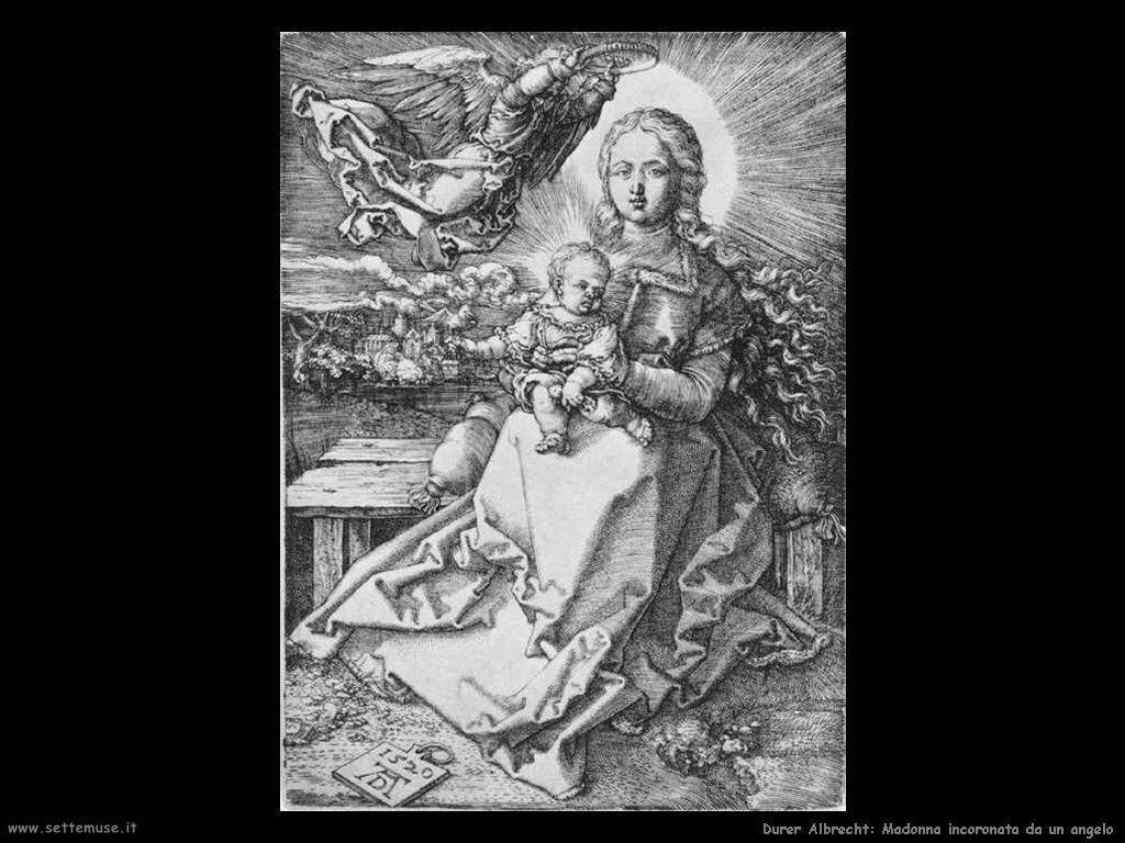 Madonna incoronata da un angelo