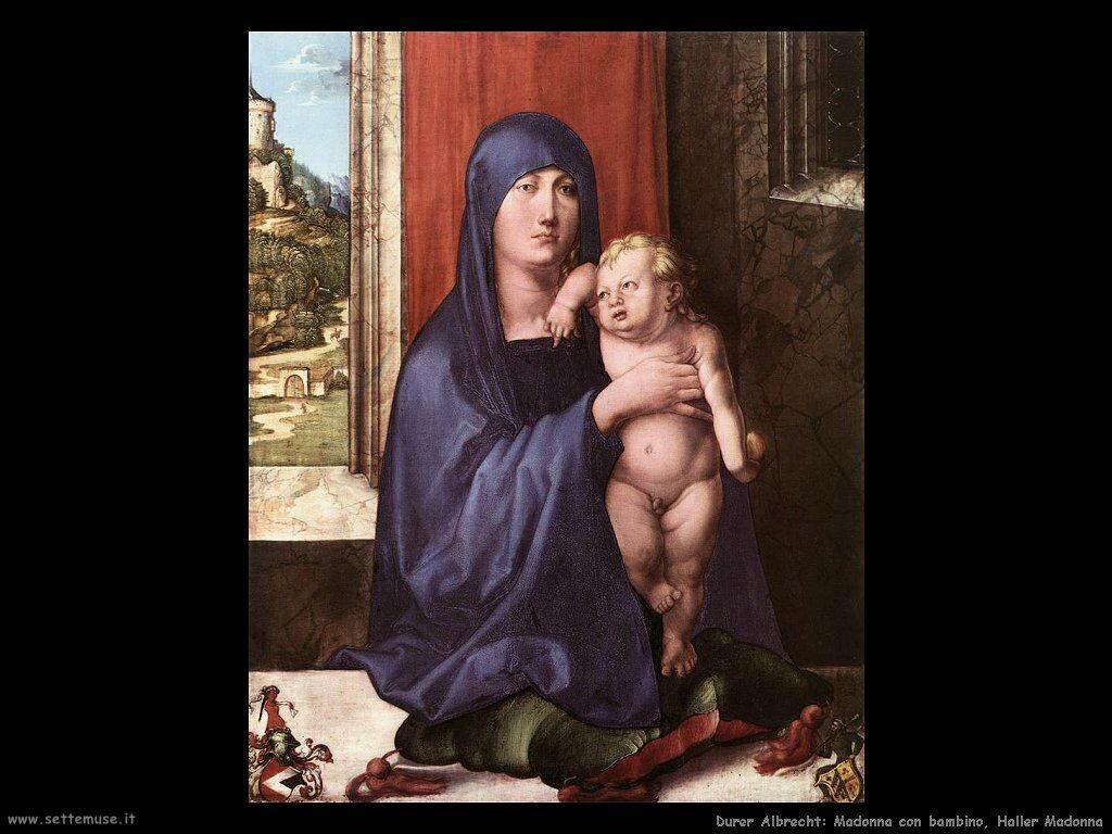 Madonna con bambino (Haller madonna)