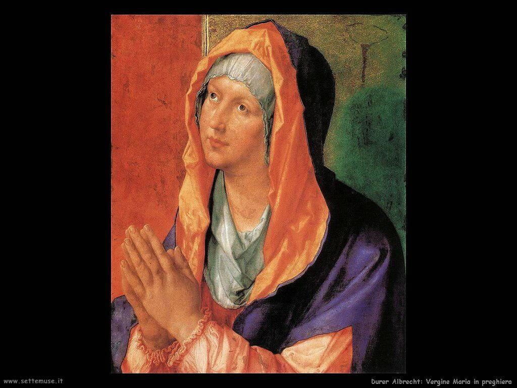 Vergine Maria in preghiera