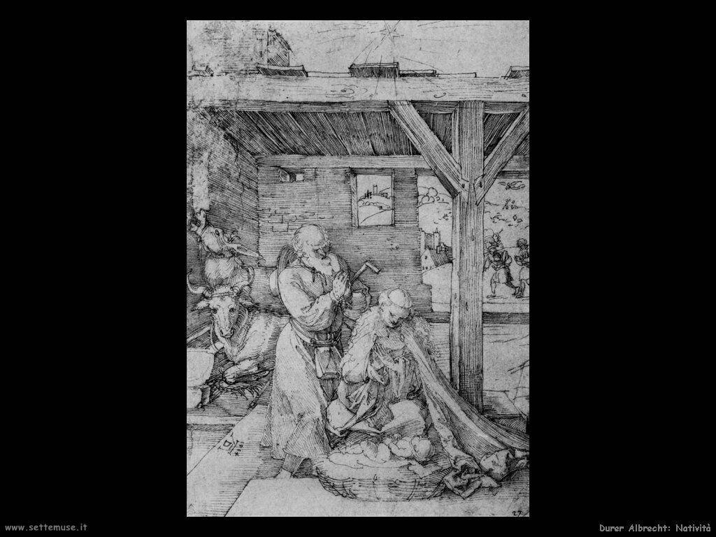 Albrecht Durer natività