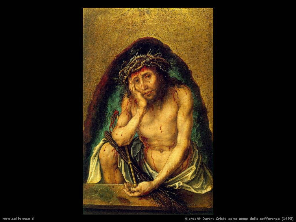 Cristo, uomo della sofferenza (1493)