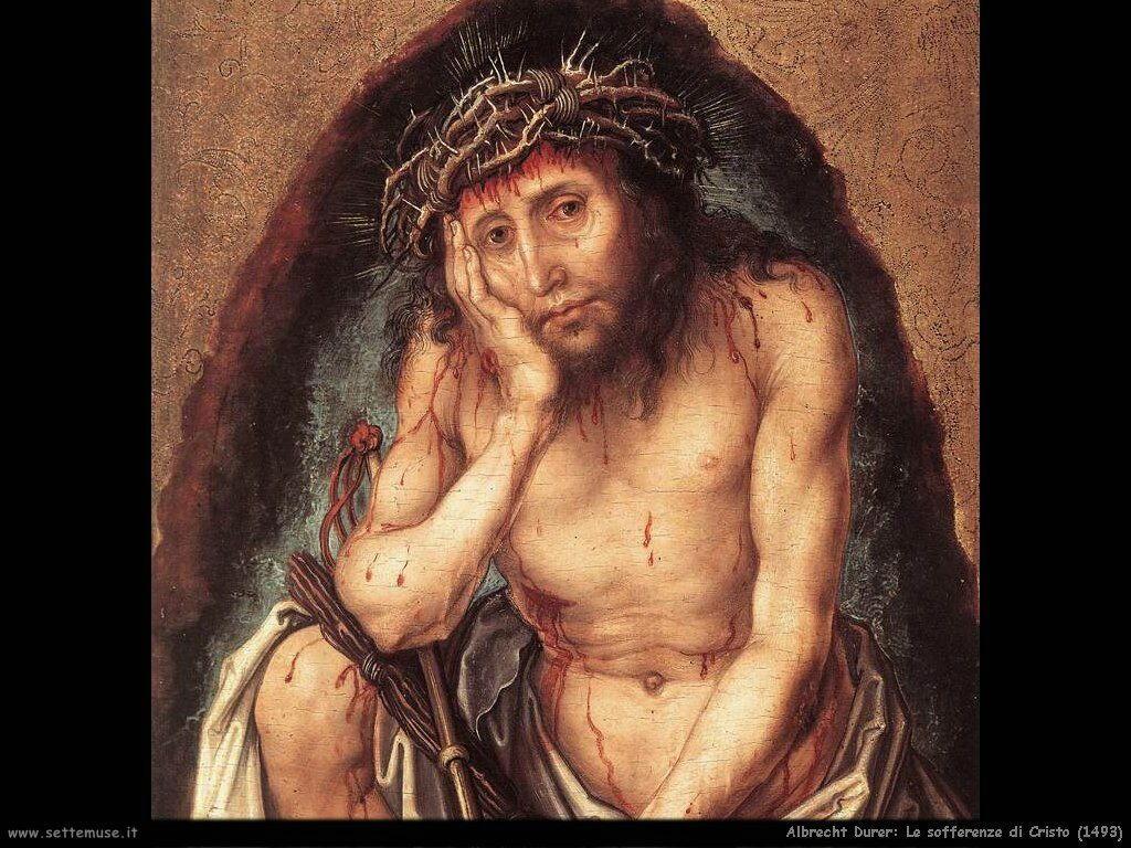 Cristo, uomo della sofferenza (1493) dett