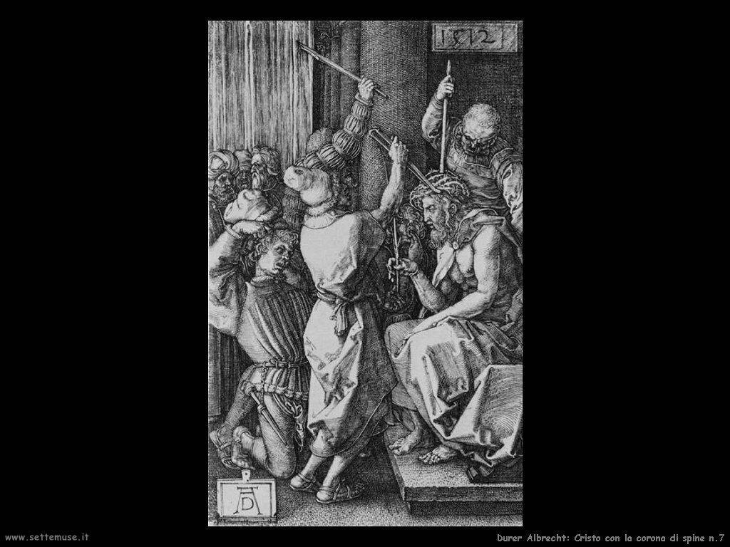 Cristo con la corona di spine n.7