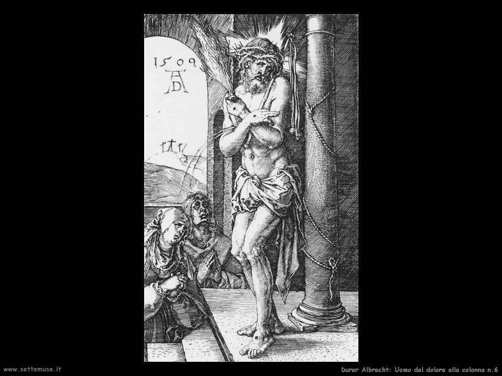 Uomo del dolore alla colonna n.6