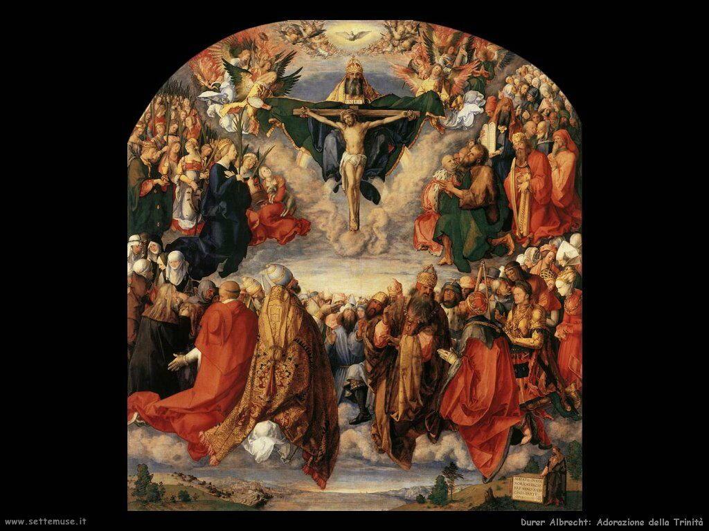 Adorazione della Trinità