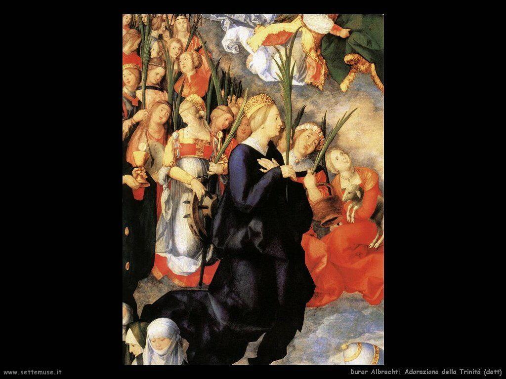 Adorazione della Trinità (dett)