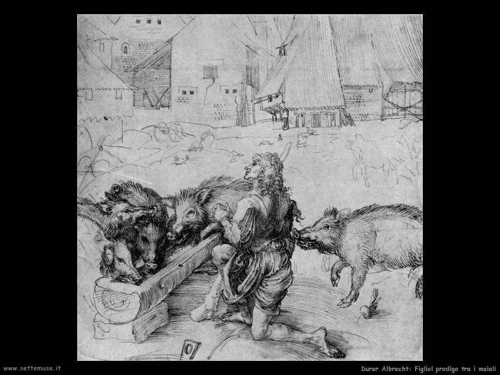 Figliol prodigo tra i maiali