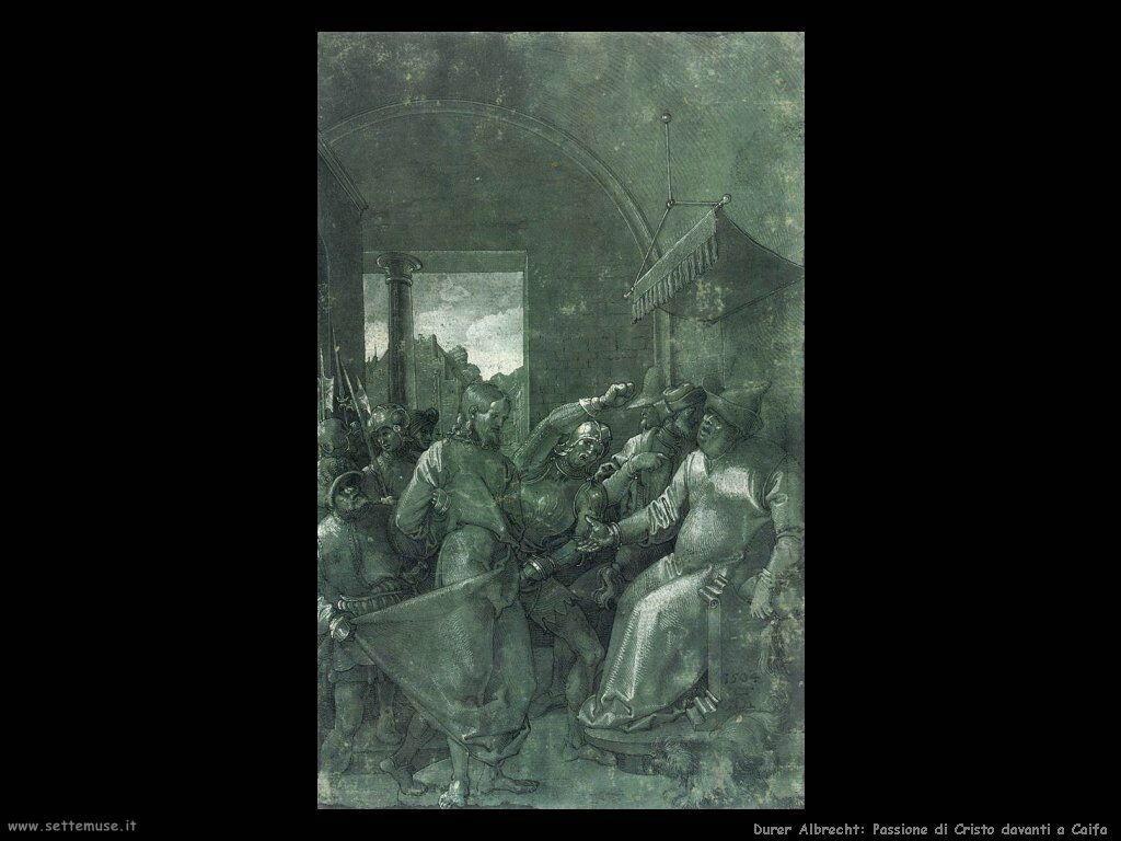 Passione di Cristo davanti a Caifa