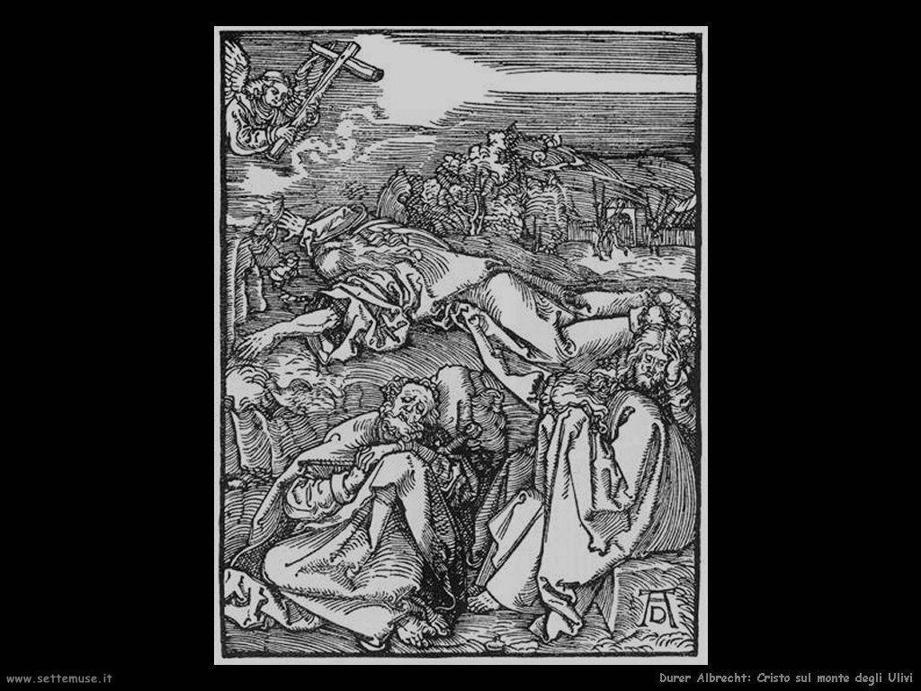 Cristo sul monte degli Ulivi