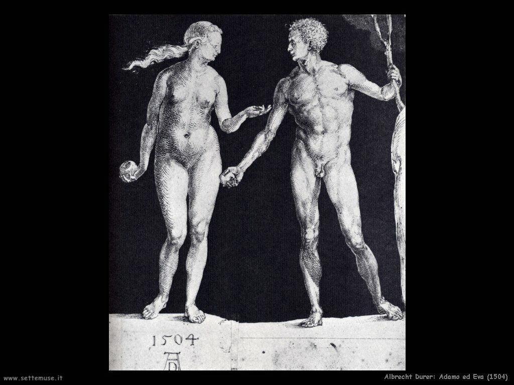 Adamo ed Eva (1504)