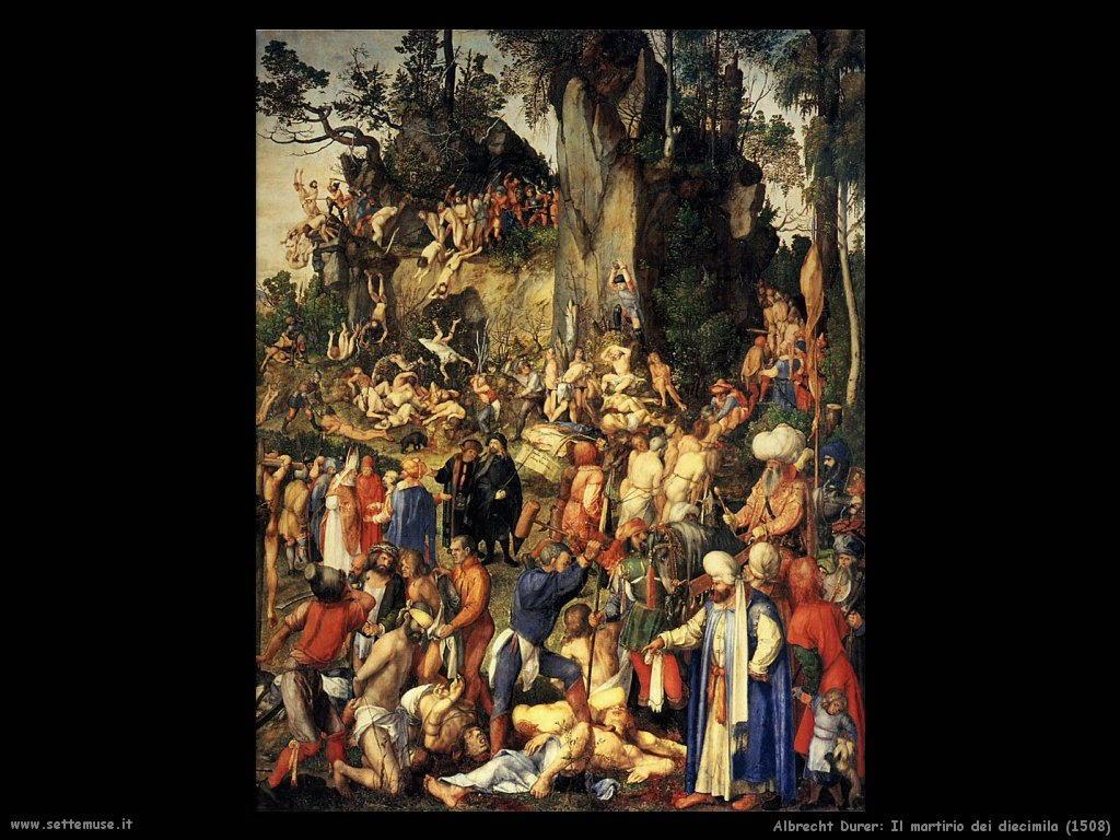 Il martirio dei diecimila (1508)