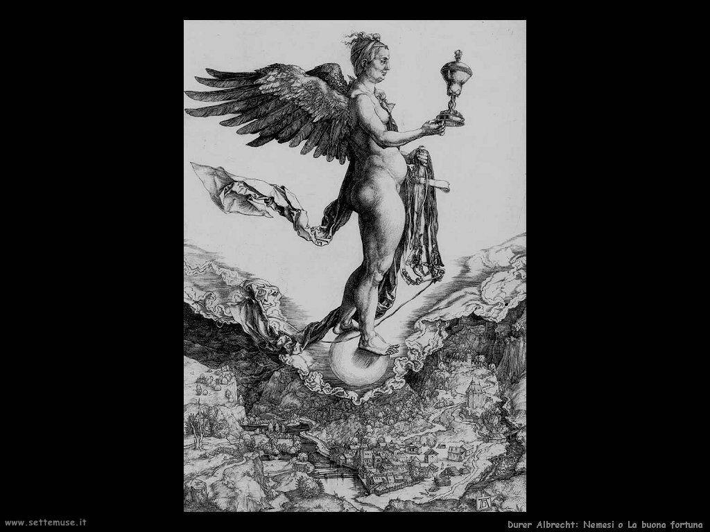 Nemesi o La buona fortuna - Durer