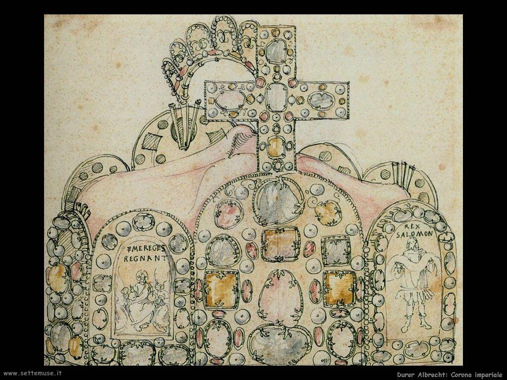 Corona imperiale - Durer