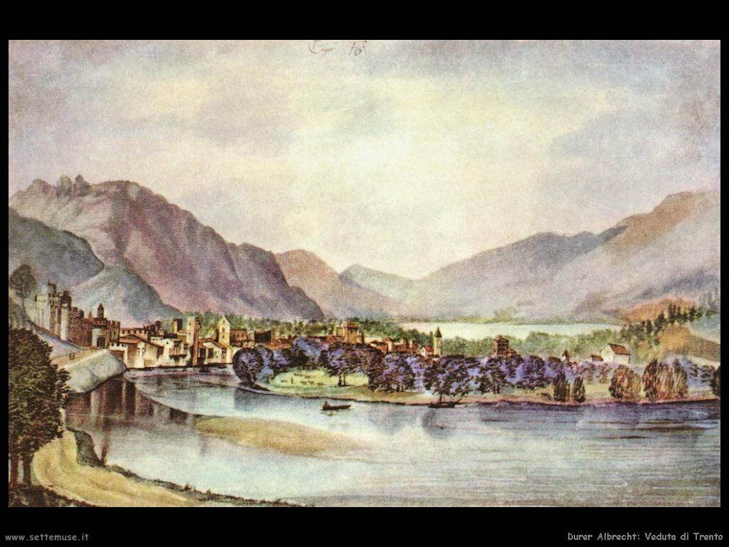 Veduta di Trento