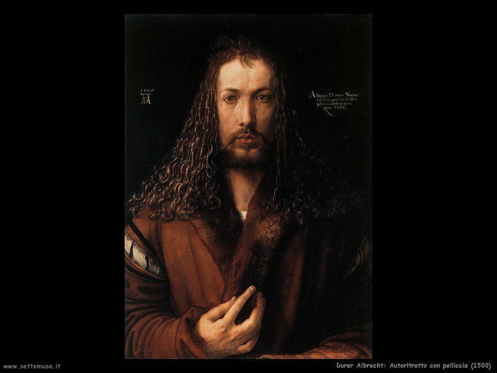 Autoritratto con pelliccia (1500)