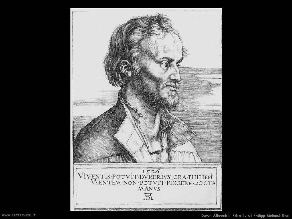 Ritratto di Philipp Melanchthon