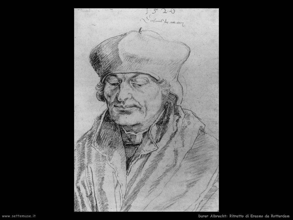 Ritratto di Erasmo da Rotterdam