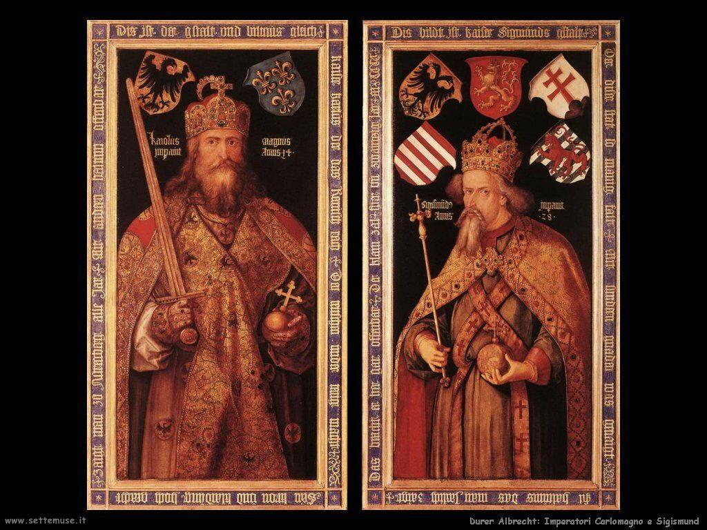 Imperatori Carlomagno e Sigismund
