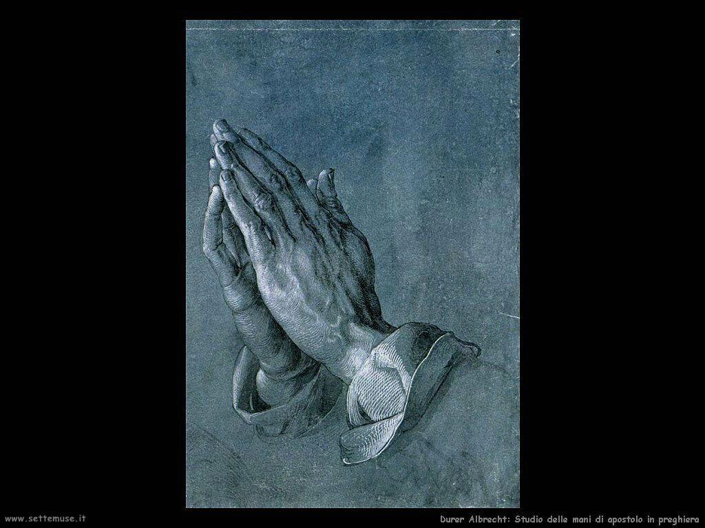 durer apostolo in preghiera