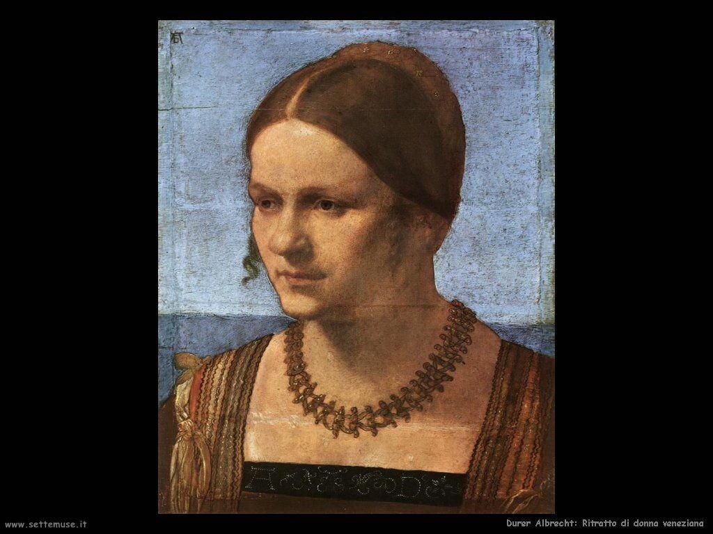 Ritratto di una veneziana