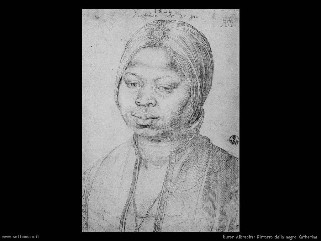 Ritratto della negra Katherina