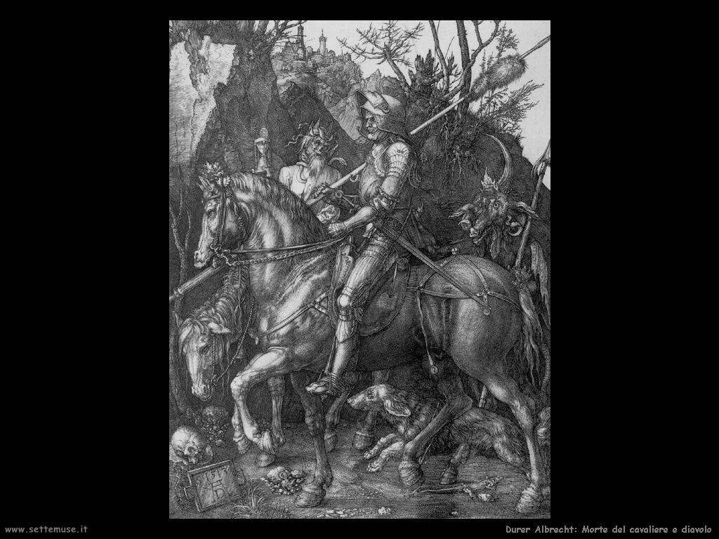 Morte del cavaliere e diavolo