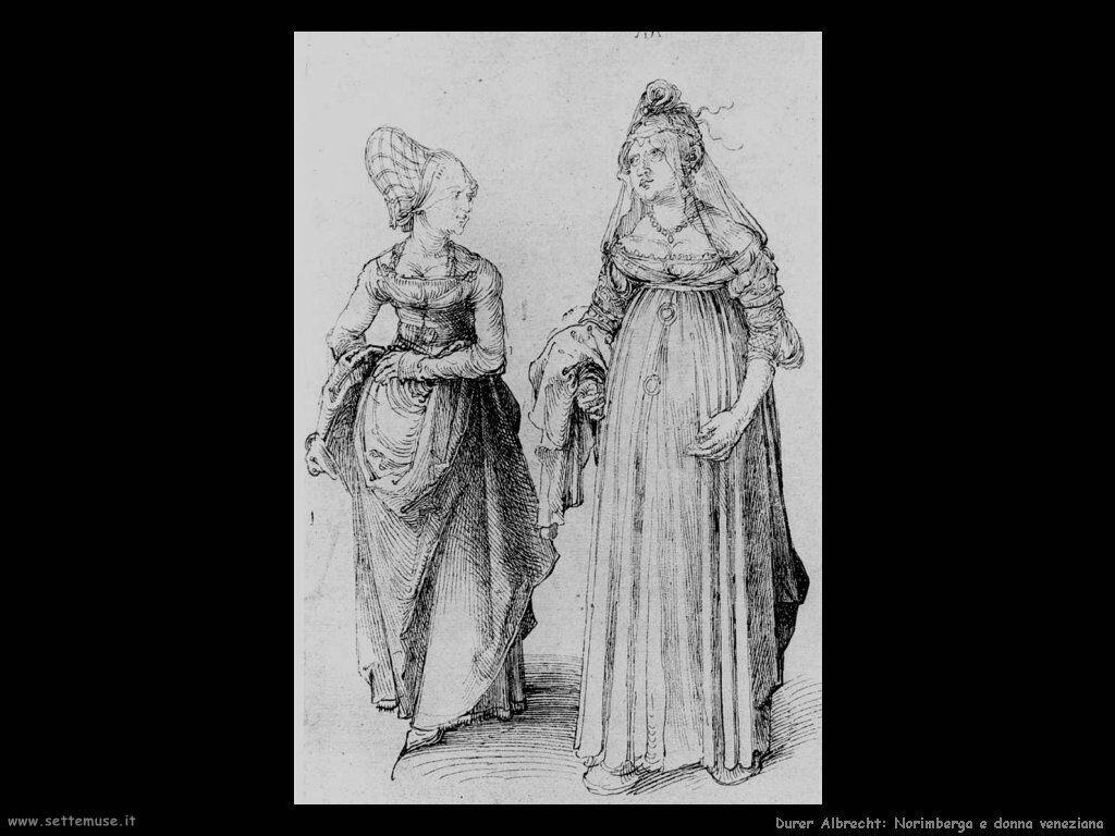 Norimberga e donna Veneziana