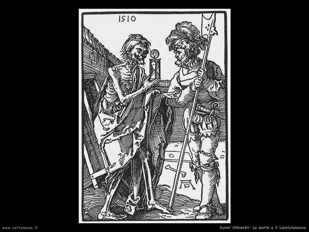 La morte e il Lanzichenecco