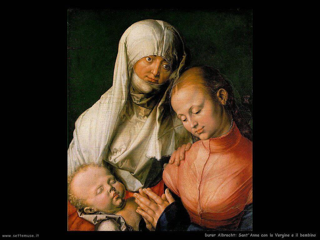 Sant'Anna con la Vergine e bambino