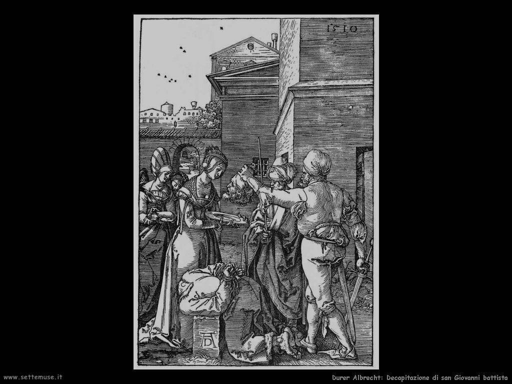Decapitazione di san Giovanni battista