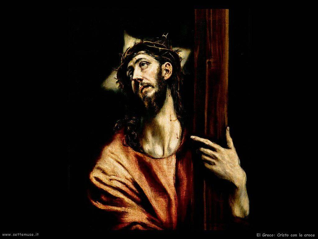 cristo con la croce