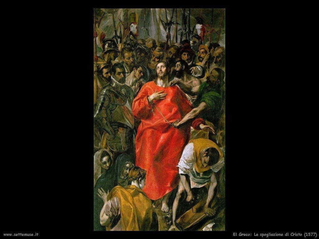 la spogliazione di cristo 1577