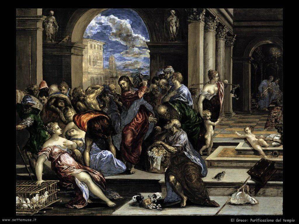 purificazione del tempio 1568