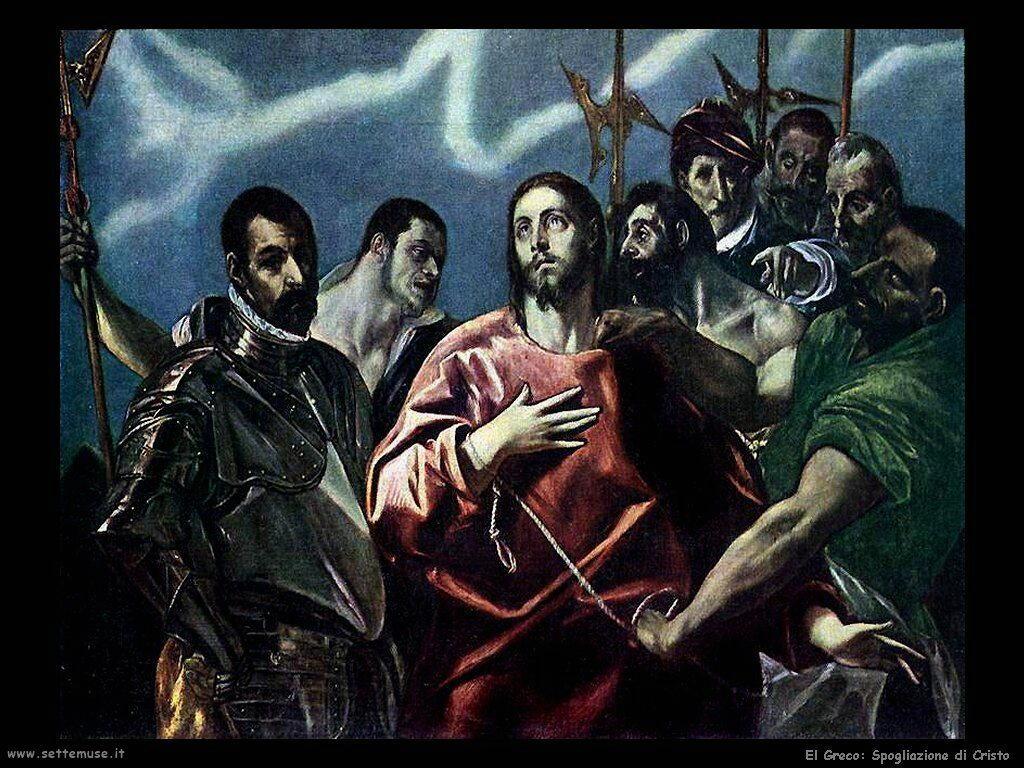 spogliazione di cristo