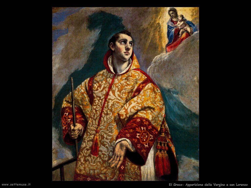 apparizione vergine a san lorenzo