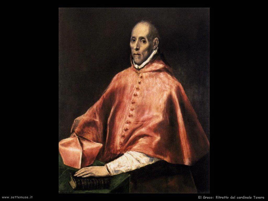 ritratto del cardinale tavera