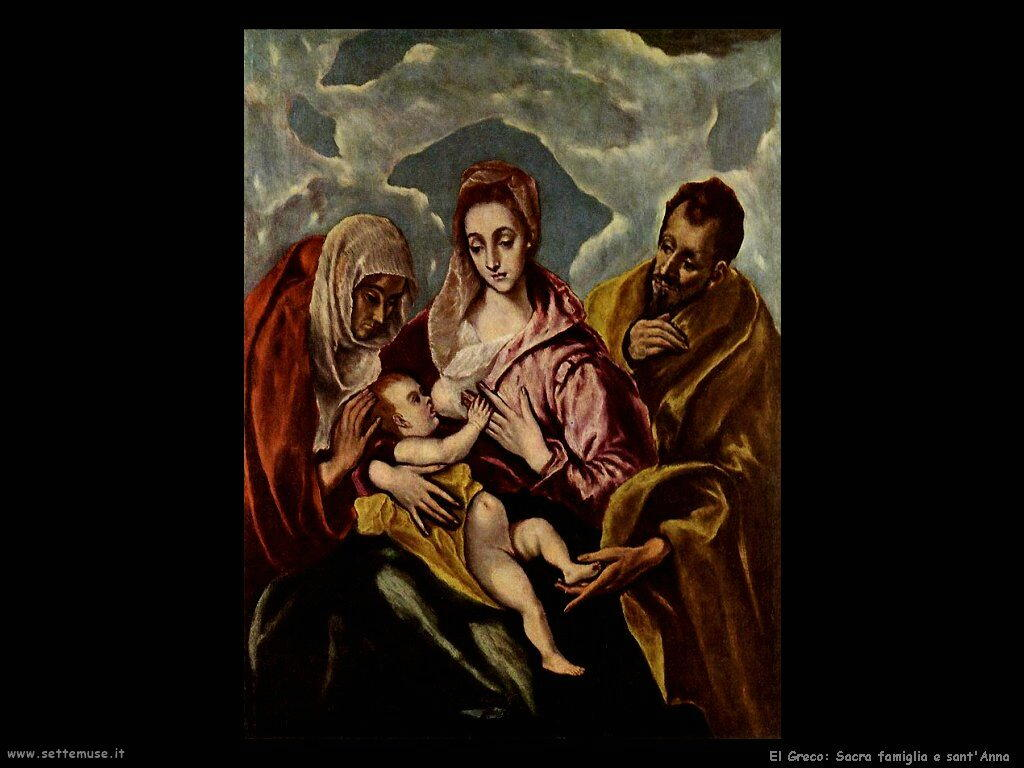sacra famiglia e sant anna