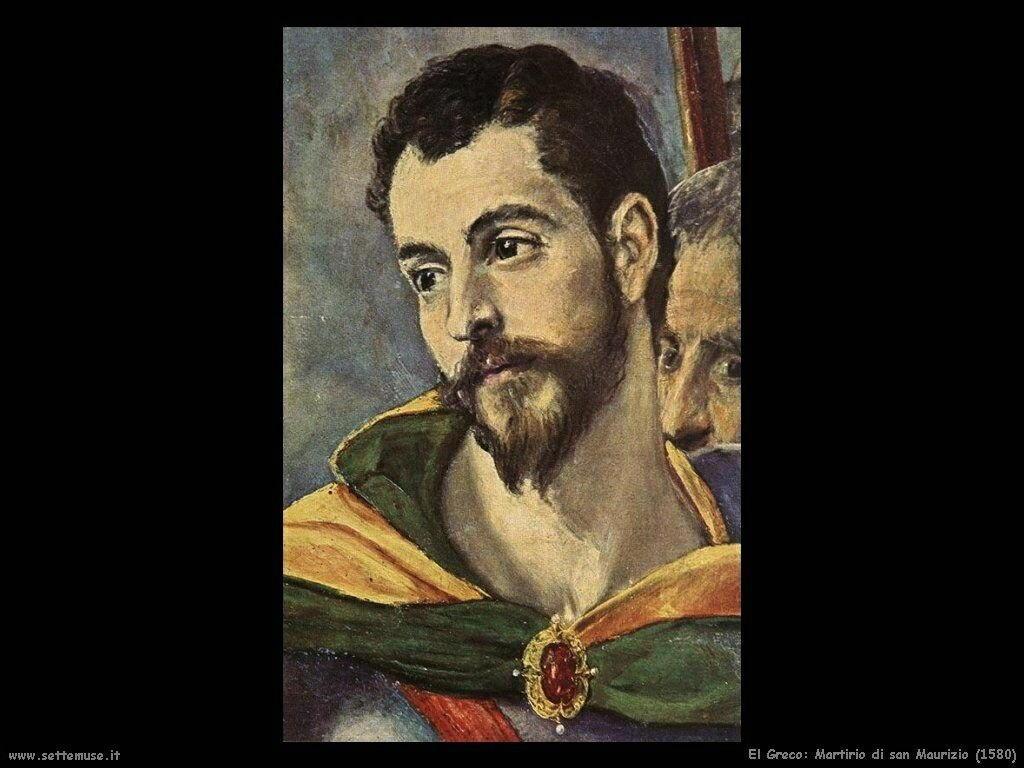 martirio san maurizio 1580