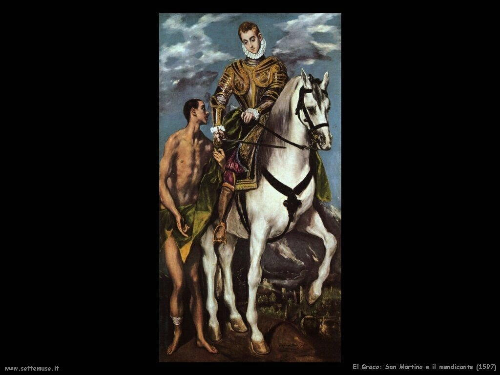 san martino e il mendicante 1597