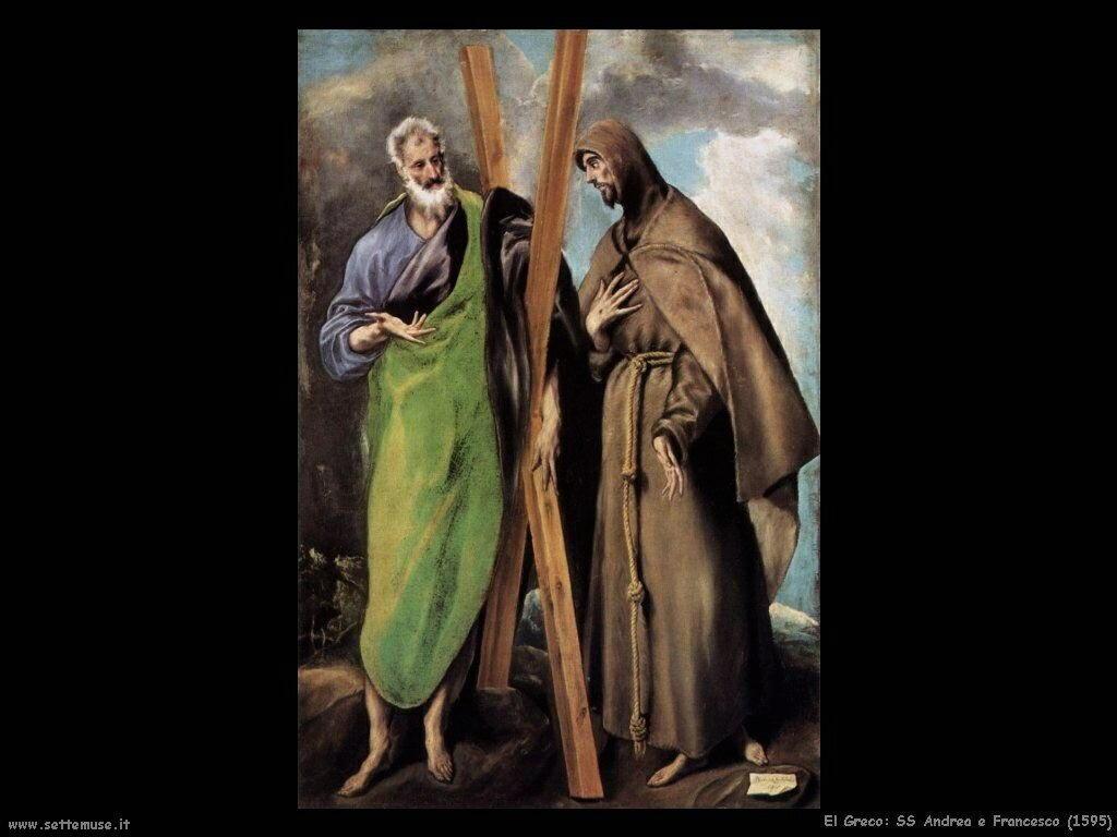 santi andrea e francesco 1595