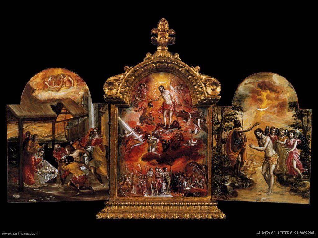 trittico di modena