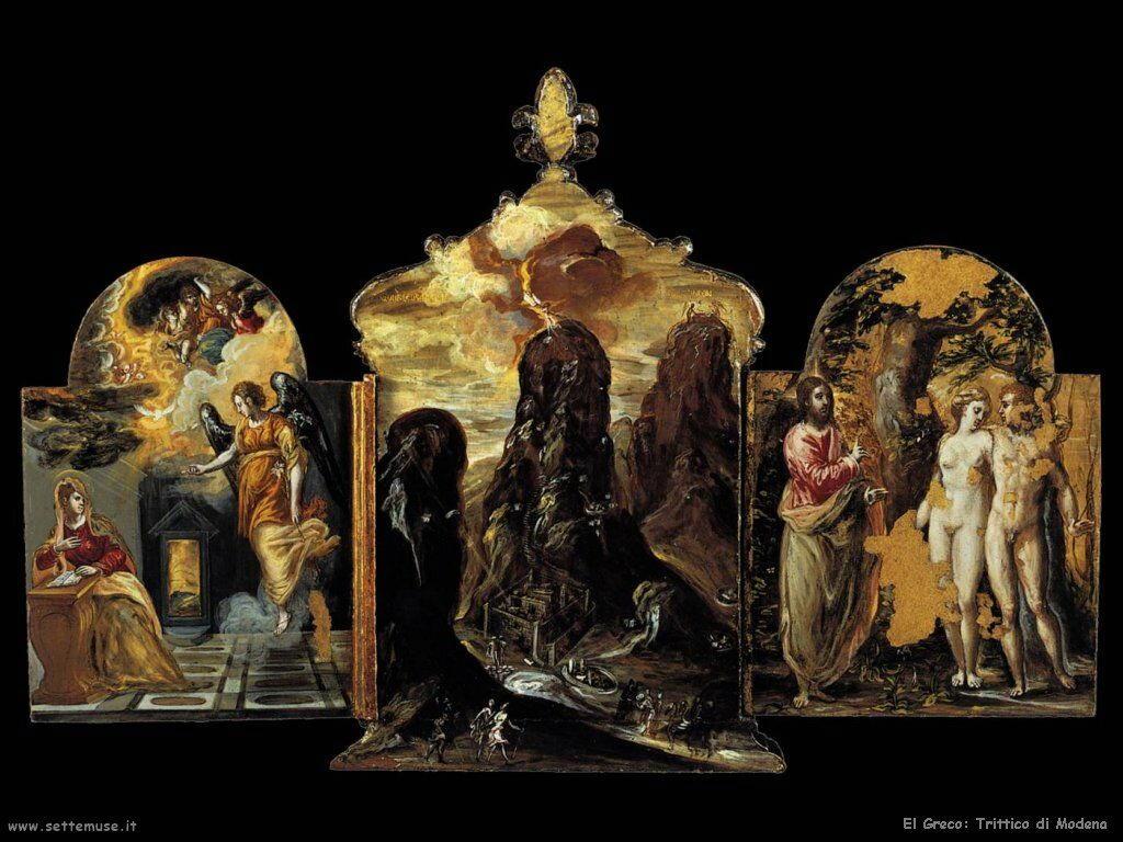 trittico di modena pannello base