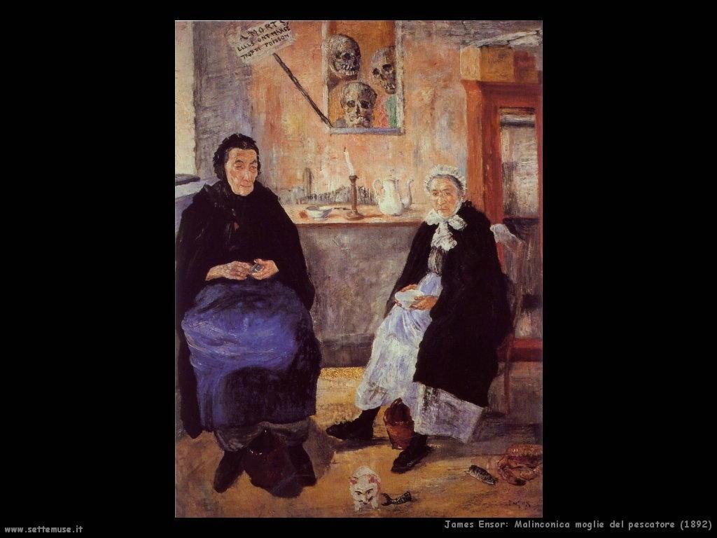 james_ensor_009_malinconica_moglie_del_pescatore_1892