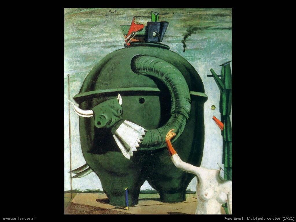 1921 max ernst elefante_celebes