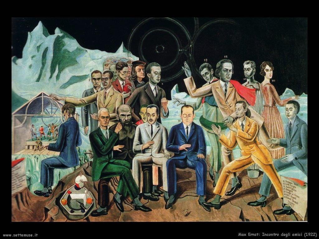 1922 max incontro degli amici