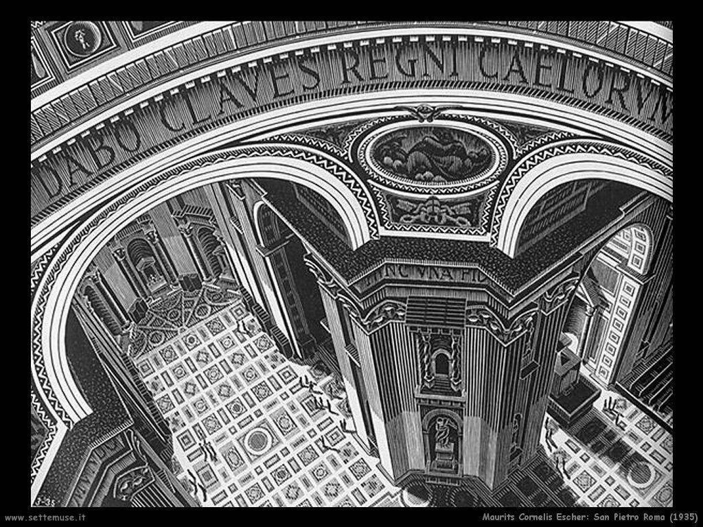 M c escher pittore biografia opere for Escher metamorfosi