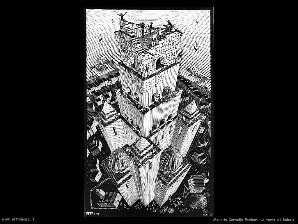 M. C. Escher  Torre di Babele