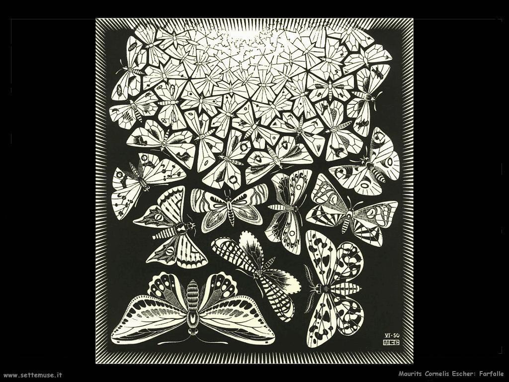M. C. Escher Farfalle
