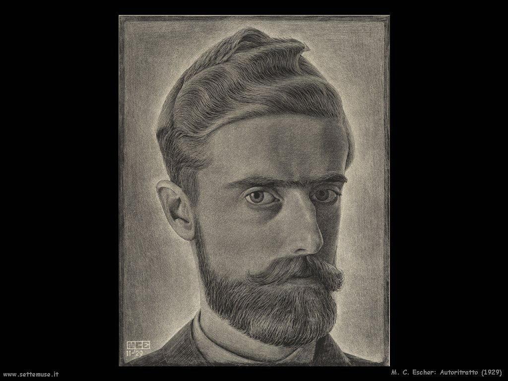 M. C. Escher Autoritratto